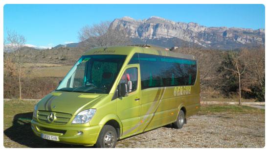 Transporte Turístico - Aínsa. Autocares Bergua